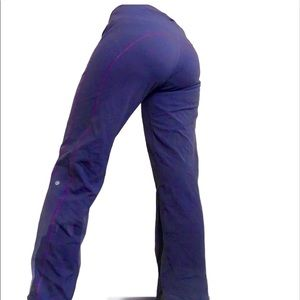 Lululemon blue leggings yoga pants